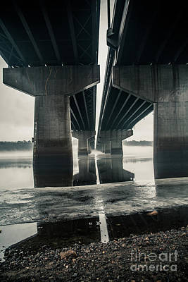 Mellow Yellow - Under the Bridge 1 by Chellie Bock