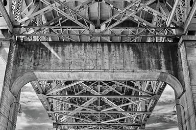 Photograph - Under The Bridge - 2018 Christopher Buff, Www.aviationbuff.com by Chris Buff
