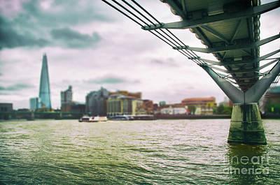 Under The Bridge Art Print by Alessandro Giorgi Art Photography
