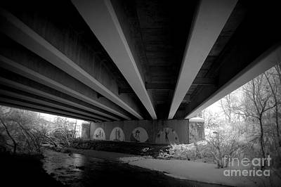 Photograph - Under The Bridge by Anjanette Douglas