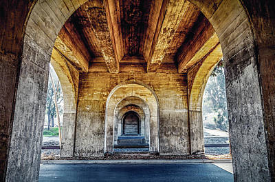 Photograph - Under The Bridge by April Reppucci