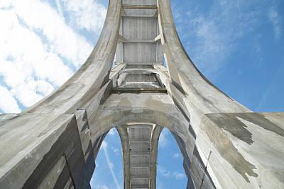Under The Bridge Art Print by Barbara Molocznik