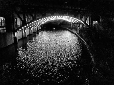 Photograph - Under The Bridge by C H Apperson