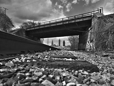 Photograph - Under The Bridge Cleveland  by Mike Bruckman