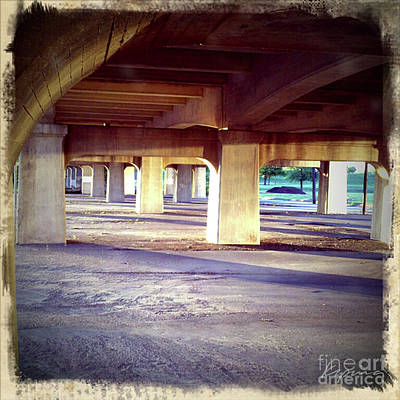 Photograph - Under The Bridge, Color by Greg Kopriva
