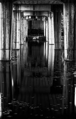 Photograph - Under The Bridge by Hayato Matsumoto