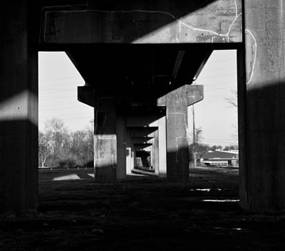 Photograph - Under The Bridge by Jonny D