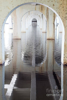 Photograph - Under The Bridge by Linda Lees