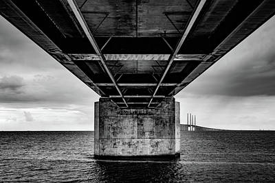 Photograph - Under The Bridge by Michael Niessen