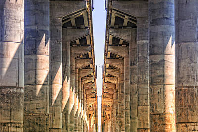 Wall Art - Photograph - Under The Bridge by Michel Emery