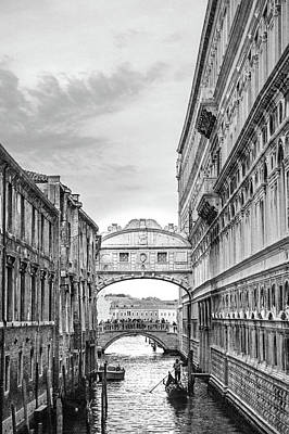 Photograph - Under The Bridge Of Sighs by Angie Schutt
