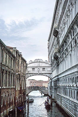 Photograph - Under The Bridge Of Sighs II by Angie Schutt