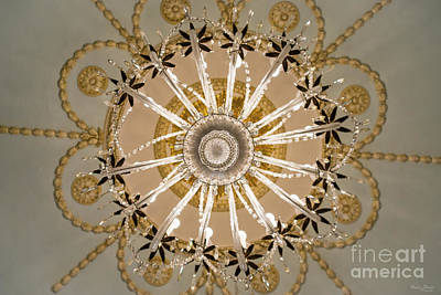 Photograph - Under The Chandelier by Jennifer White