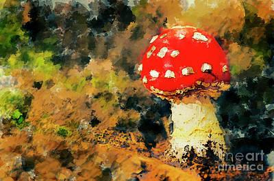Digital Art - Under The Chestnut Grove by Hernan Bua