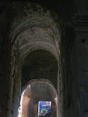 Photograph - Under The Colosseum by S Paul Sahm