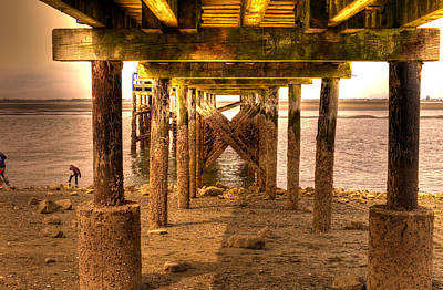 Photograph - Under The Dock by Lawrence Christopher