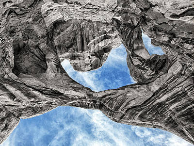 Photograph - A Double Arch Perspective by Art Cole