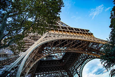Photograph - Under The Eiffel by Kim Wilson