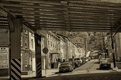 Manayunk Photograph - Under The El At Manayunk 1 by Jack Paolini