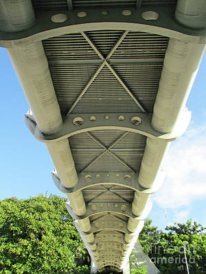 Photograph - Under The Footbridge Acapulco by Randall Weidner