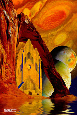 Digital Art - Under The Giants Eye by Chuck Mountain