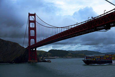 San Fransisco Photograph - Under The Golden Gate In Early Morning Light  by Richard Henne