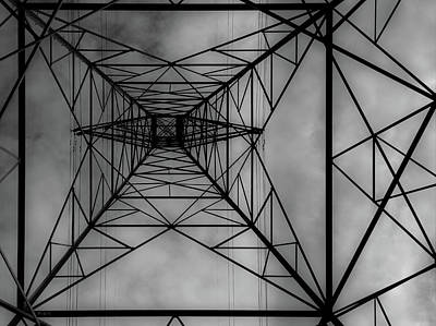 Under The Grid Art Print