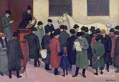 Painting - Under The Hammer, 1914 by Robert Polhill Bevan