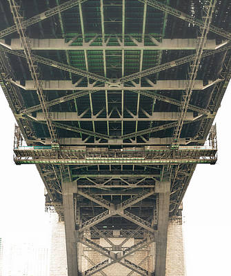 Photograph - Under The Harbour Bridge by Nisah Cheatham