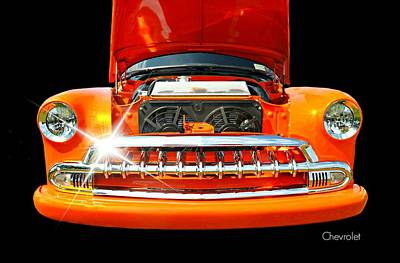 Photograph - Under The Hood by Diana Angstadt