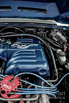 Photograph - Under The Hood by Ella Kaye Dickey