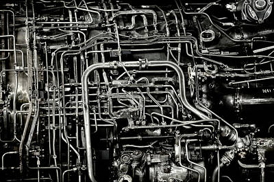 Art Print featuring the photograph Under The Hood by Jeffrey Jensen