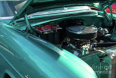 Photograph - Under The Hood by Jennifer White