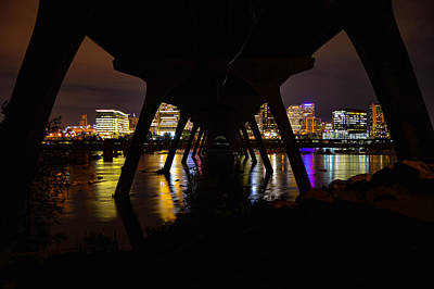 Photograph - Under The Manchester Bridge by Aaron Dishner