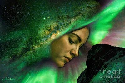 Under The Milky Way Art Print
