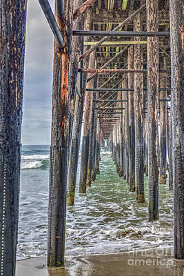 Photograph - Under The Oceanside Pier by David Zanzinger