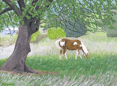 Painting - Under The Old Apple Tree by Barb Pennypacker