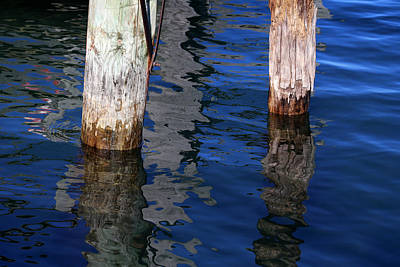 Photograph - Under The Old Dock by Mary Bedy