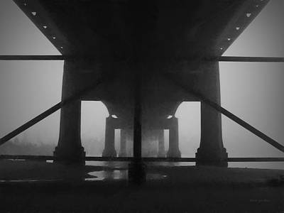 Under The Old Sakonnet River Bridge Art Print