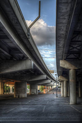 Photograph - Under The Overpass II by Break The Silhouette