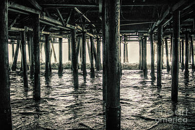 Photograph - Under The Pier 3 by Joe Lach