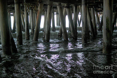 Photograph - Under The Pier 4 by Joe Lach