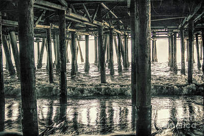 Photograph - Under The Pier 5 by Joe Lach