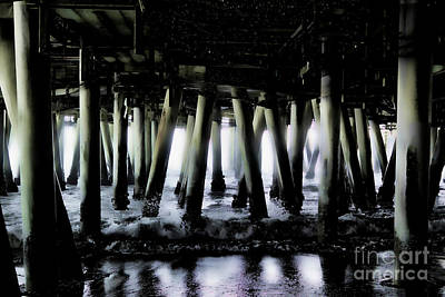 Photograph - Under The Pier 6 by Joe Lach