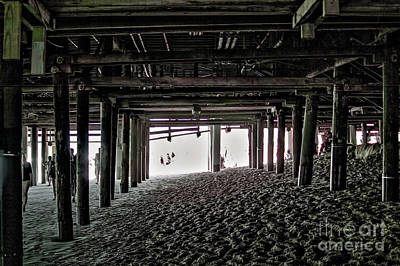 Photograph - Under The Pier 7 by Joe Lach