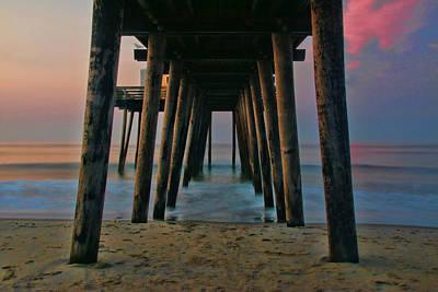 Photograph - Under The Pier by Allen Beatty