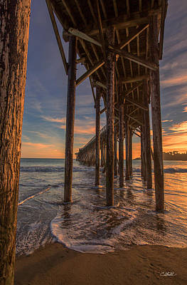 Photograph - Under The Pier by Cheryl Strahl