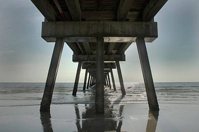 Photograph - Under The Pier by David Cabana