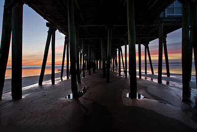 Photograph - Under The Pier by Ed Fletcher