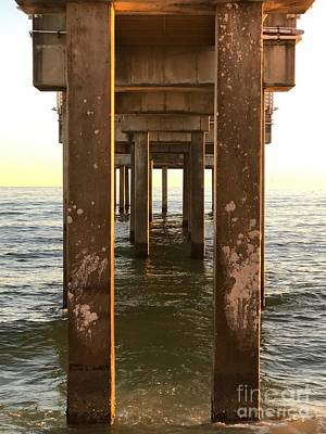 Photograph - Under The Pier In Orange Beach by Luther Fine Art